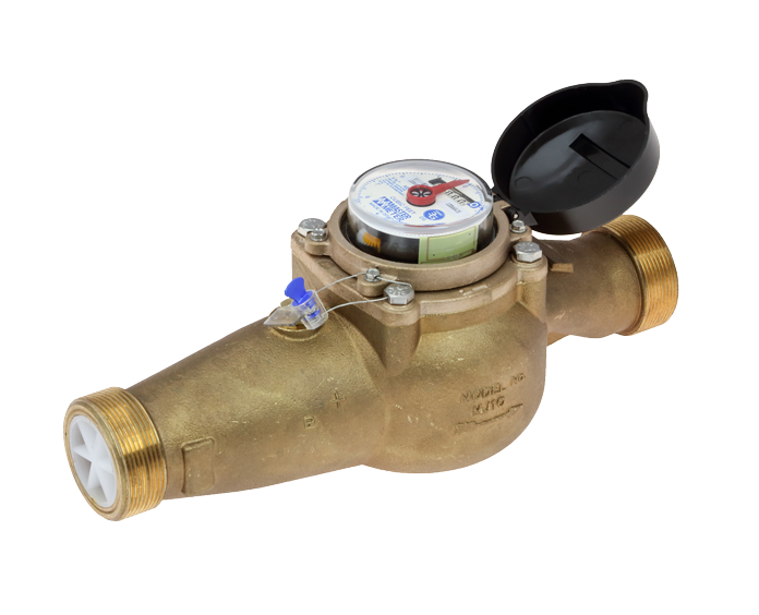 "Master Meter Intermediate MS Multijet 1.5"" (includes couplings)"